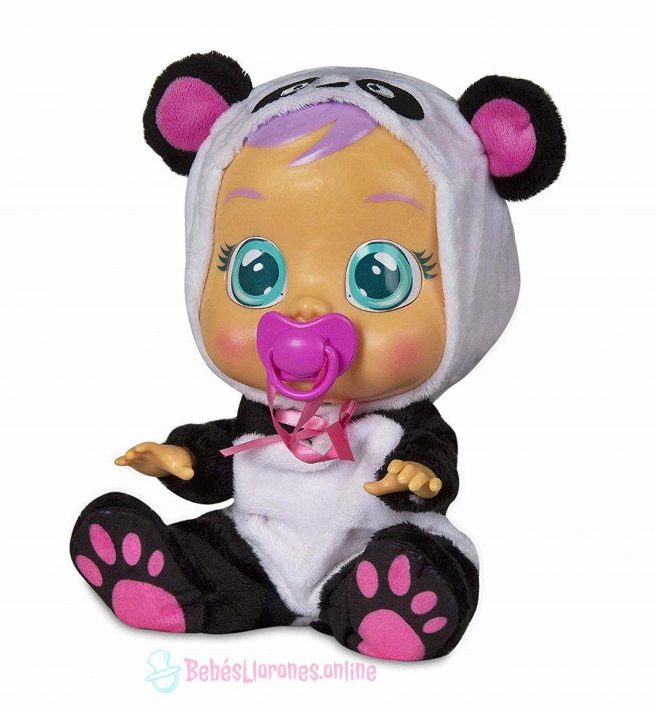 bebe lloron oso panda