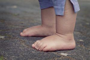 A que edad empieza a andar los bebes